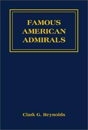 Famous American Admirals