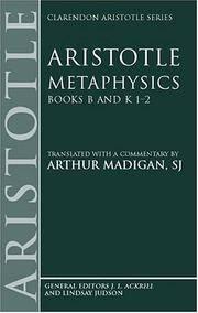 image of Aristotle: Metaphysics Books B and K 1-2 (Paperback)