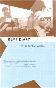 REMF Diary: A Novel of the Vietnam War Zone by David Wilson - Paperback - 1988 - from Dalley Book Service and Biblio.com