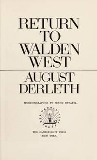 image of Return to Walden West.