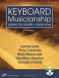 KEYBOARD MUSICIANSHIP BK.ONE-W/CD