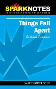 Things Fall Apart (SparkNotes Literature Guide) (SparkNotes Literature Guide Series)