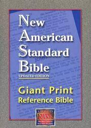 NASB Giant-Print Reference Bible (Black Imitation Leather)