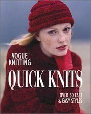 Vogue Knitting Quick Knits