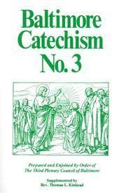 Baltimore Catechism No. 3