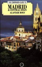 image of The Companion Guide to Madrid and Central Spain (Companion Guides)