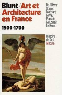 Art et Architecture en France 1500-1700