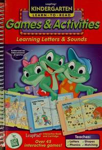 LEAPFROG KINDERGARTEN LEARN-TO-READ: GAMES & ACTIVITIES, LEARNING LETTERS AND SOUNDS