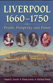Liverpool 1660-1750: People. Prosperity and Power