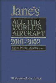 JANE'S ALL THE WORLD'S AIRCRAFT 2001-2002