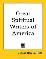 Great Spiritual Writers of America