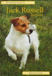JACK RUSSELL TERRIERS (Pet Owner's Guide Series)
