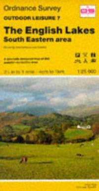 image of Outdoor Leisure Maps: English Lakes - South Eastern Area Sheet 7