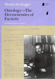 image of Ontology - The Hermeneutics of Facticity [Studies in Continental Thought]