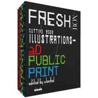 FRESH BOX: Cutting Edge Illustrations 3 Vol. Box Set