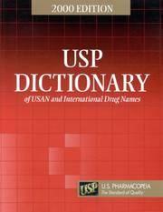 Usp Dictionary of Usan and International Drug Names 2002 (Paperback, 2000)
