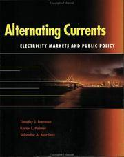 Alternating Currents: Electricity And Public Policy (Resources For The Future) by Brennan  .T.J - Hardcover - U. S. EDITION - from HR ENGINEERS BOOKS and Biblio.com