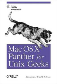 MAC OS X PANTHER FOR UNIX GEEKS OE