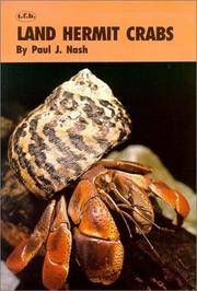 Land Hermit Crabs by Paul J. Nash - Paperback - 1976-06 - from Cheryl's Books and Biblio.com