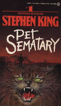 Pet Sematary (Signet) by Stephen King - 1984-08-08