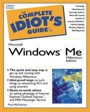 Complete Idiot's Guide To Microsoft Windows Millennium