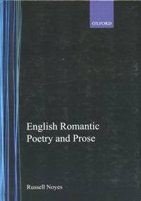 English Romantic Poetry and Prose 9th (1967) printing with corrections and expanded bibliography.