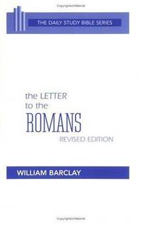 image of The Letter to the Romans (Daily Study Bible (Westminster Hardcover))