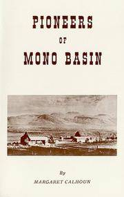 Pioneers of the Mono Basin