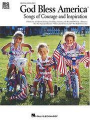 image of God Bless America : Songs of Courage and Inspiration