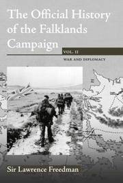 THE OFFICIAL HISTORY OF THE FALKLANDS CAMPAIGN: VOL. II