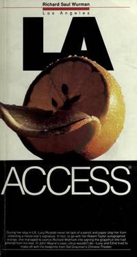 Access Los Angeles 5ED (Access Guides) by  Access Travel Guides - Paperback - 1991-07-04 - from Robinson Street Books, IOBA (SKU: BING86512295)