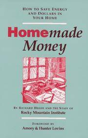 Homemade Money: How to Save Energy and Dollars in Your Home