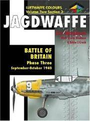 Jagdwaffe: Phase 3: Battle of Britain (Classic Colours S.)