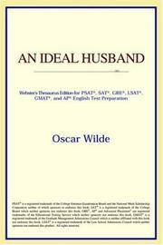 image of An Ideal Husband (Webster's Thesaurus Edition)
