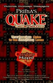 Prima's Quake Game Secrets : Unauthorized Guide to the Shareware Levels