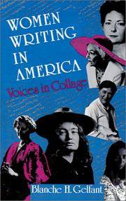 Women Writing in America: Voices in Collage.
