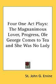 Four One Act Plays