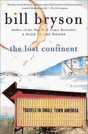 The Lost Continent: Travels in Small-Town America.