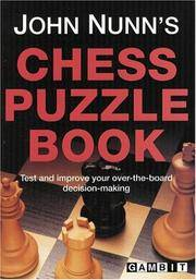 John Nunn's Chess Puzzle Book by John Nunn - Paperback - 1999-05-01 - from Ergodebooks and Biblio.co.uk