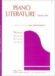 GP9 - Piano Literature Volume 1 - Bastien