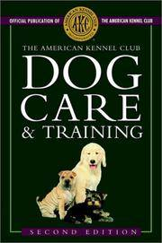 image of American Kennel Club Dog Care and Training