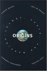 Origins: Speculations On the Cosmos,earth, And Mankind by  Hubert Reeves - Hardcover - from Good Deals On Used Books (SKU: 00015811005)