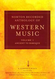 The Norton Anthology Western Music Vol. 1