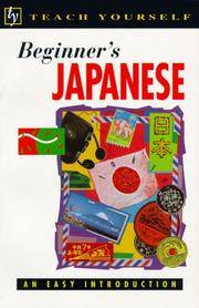 BEGINNER'S JAPANESE, TEACH YOURSELF