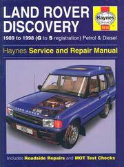 Land Rover Discovery 1989 to 1998 Petrol & Diesel Service & Repair Manual