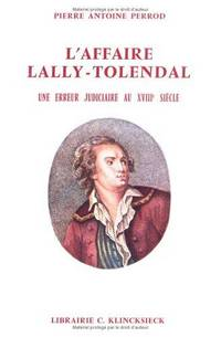LAffaire Lally-Tolendal