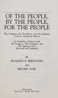 Of the People, By the People, For the People.