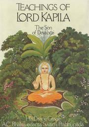 Teachings of Lord Kapiladeva: The Son of Devahuti