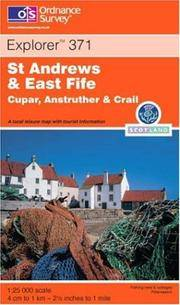 St.Andrews and East Fife (Explorer Maps) by Ordnance Survey - Paperback - 2001-10-04 - from Ergodebooks and Biblio.com
