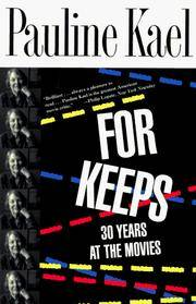 image of For Keeps: 30 Years at the Movies